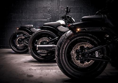Motos harley-davidson melk painting motorcycles