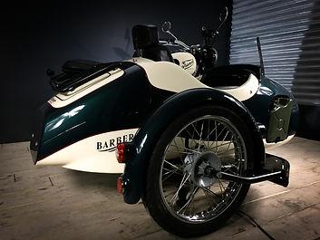 triumph bonneville side-car vintage 5
