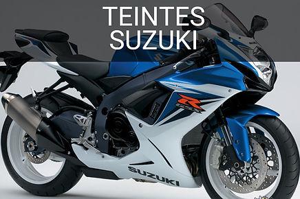 Teintes peinure moto Suzuki