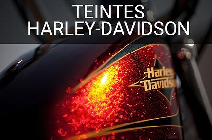 Teintes peinure moto Harley-Davidson