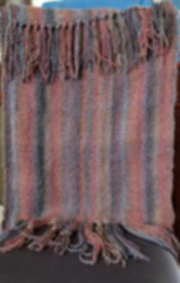 Shrug-wrap-scarf 2x3' Acrylic,silk,merin