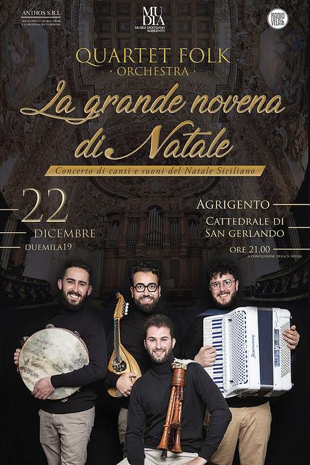 Concerto di Natale Quartet Folf Cattedra