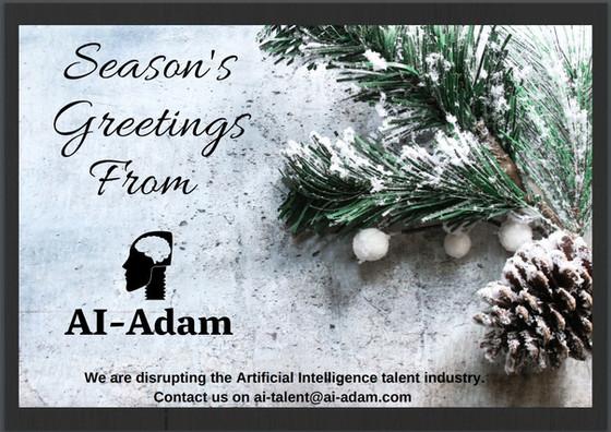 Seasons Greetings from AI-Adam