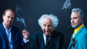 Albert Einstein  & The Pot Brothers in Law