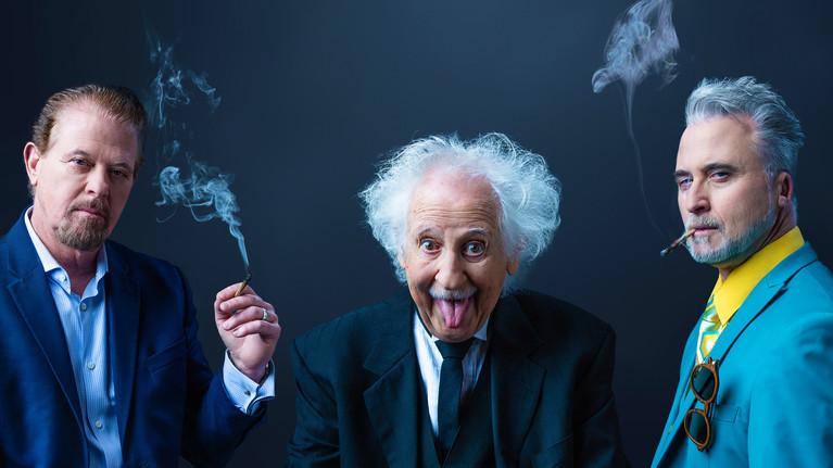 Albert Einstein  & The Pot Brothers in Law