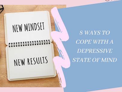 8 ways to cope with a depressive state of mind.