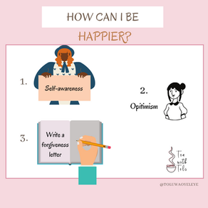 3 steps to a happier life in 2021