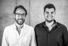 the owners of Agrilution, Max & Philipp