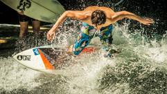 Surfer @ Eisbach Welle, Munich