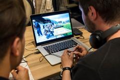 editing on location / Pixida Achensee Team Event