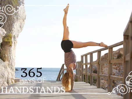 // 365 DAYS OF HANDSTANDS //