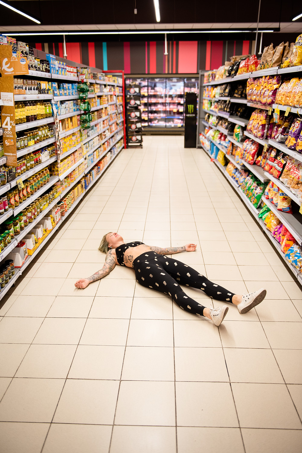 Final Resting Pose at the supermarket