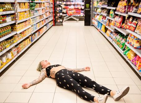 YOGA AT THE SUPERMARKET