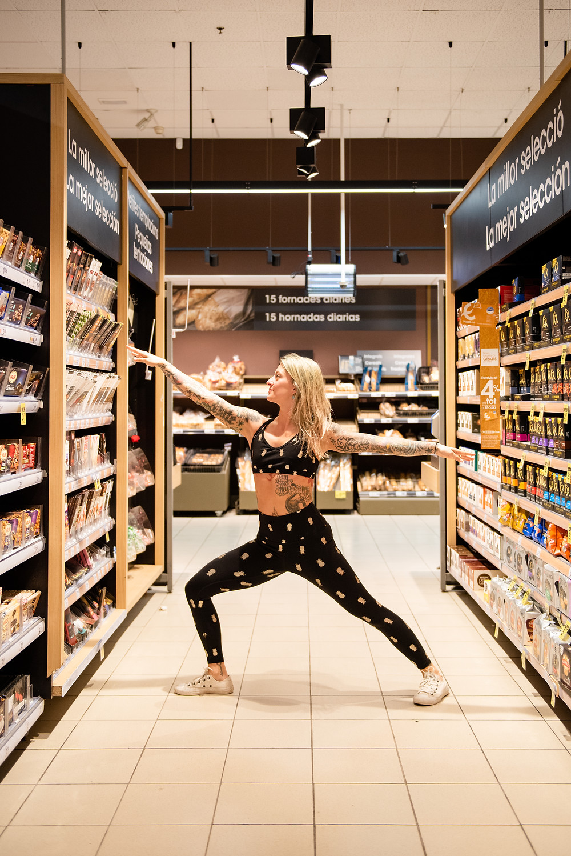 Warrior 2 at the Supermarket
