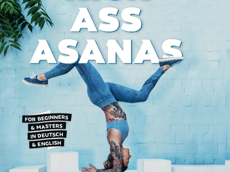 // KICK ASS ASANAS - my new book! //