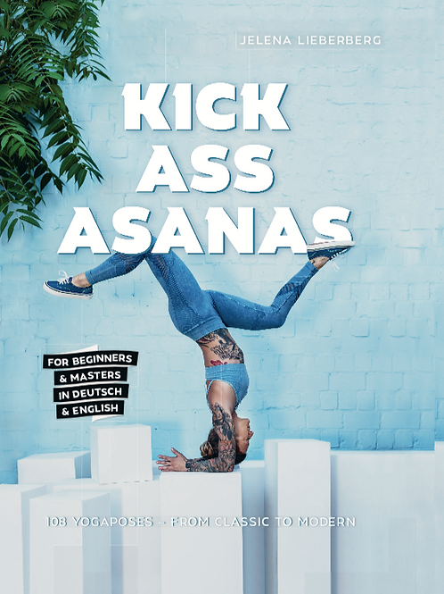 KICK ASS ASANAS - BOOK!