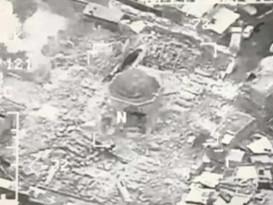 Islamic State militants blew up the Grand al-Nuri Mosque of Mosul