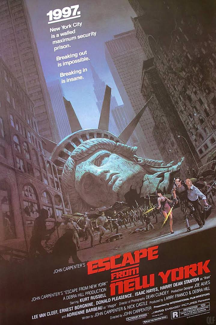 escape from ny poster
