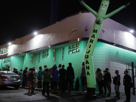 Las Vegas tourists, locals psyched for legal recreational marijuana