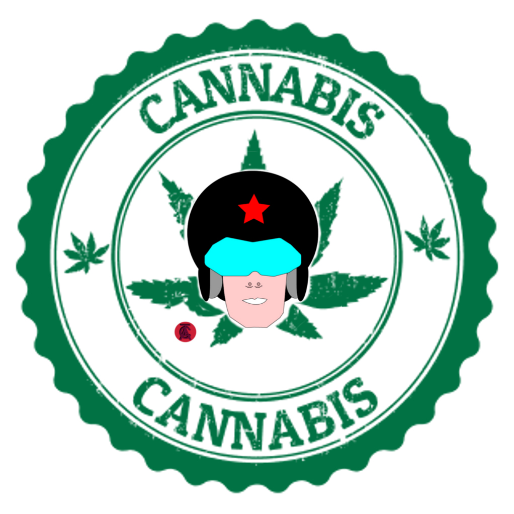 COMMANDER RED CANNABIS LOGO 1.1