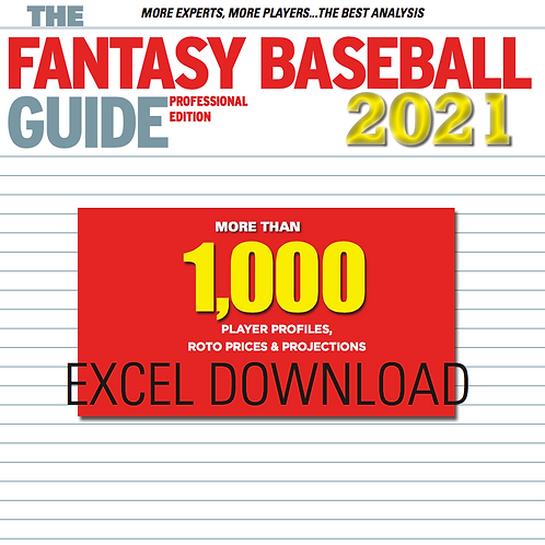 2021 Baseball Player Projections & Pricing Guide