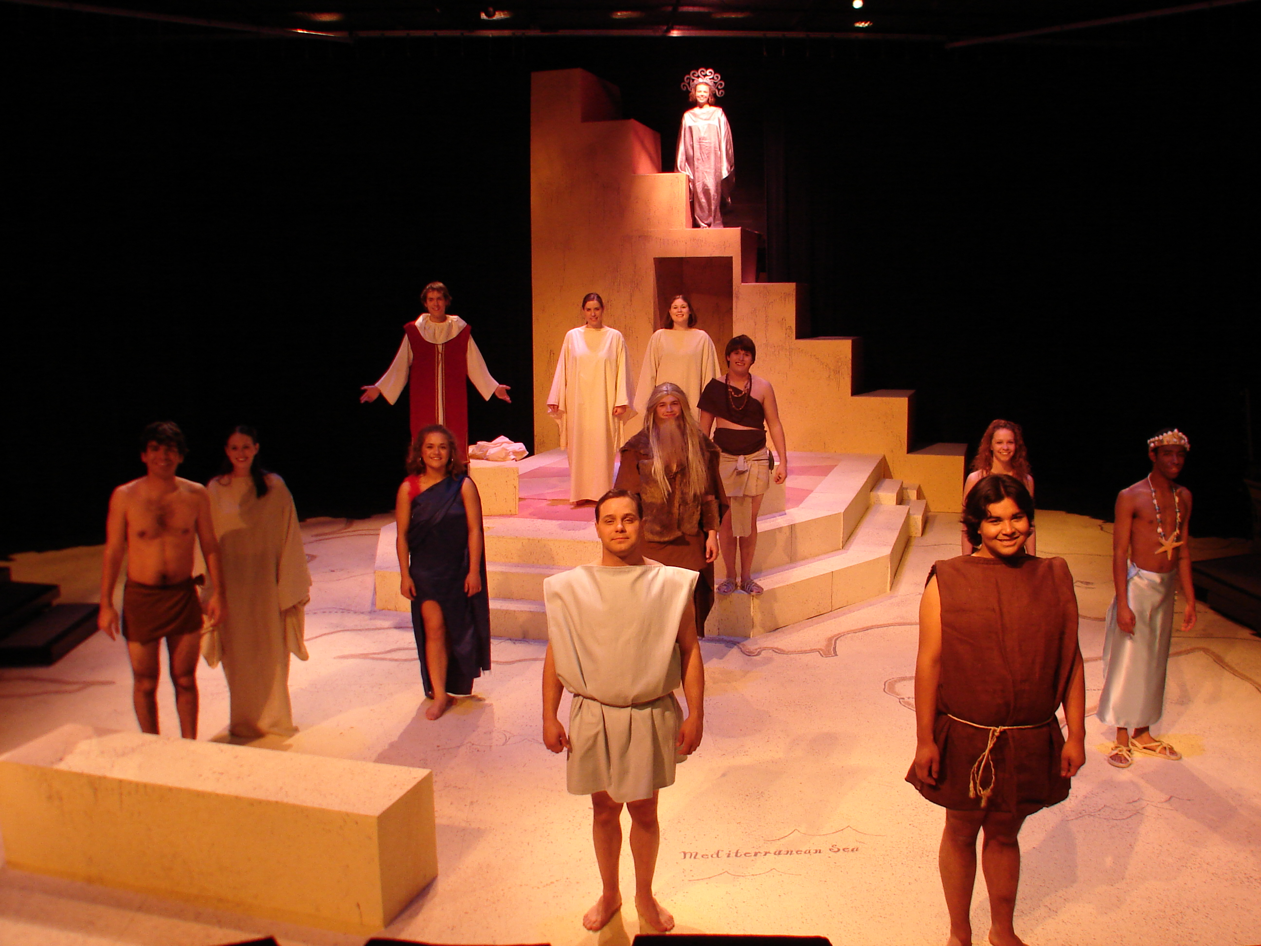 Pericles Set Full Cast.