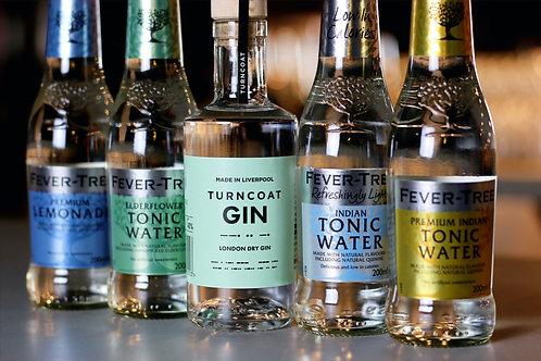 20cl London Dry & 4 Fever Tree Tonics