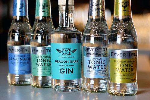 20cl Dragon Tears Gin & 4 Fever Tree Tonics