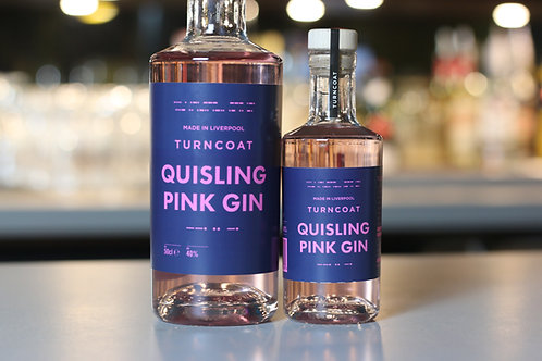 Quisling Pink Gin 40% ABV