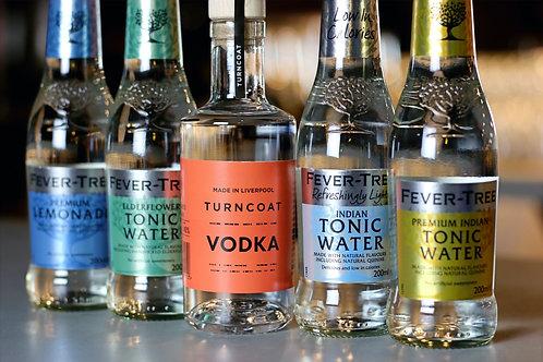 20cl Vodka & 4 Fever Tree Tonics