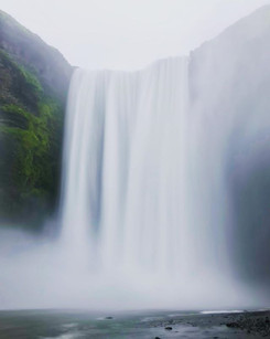 Lindblad adventure..this is Skogafoss Wa