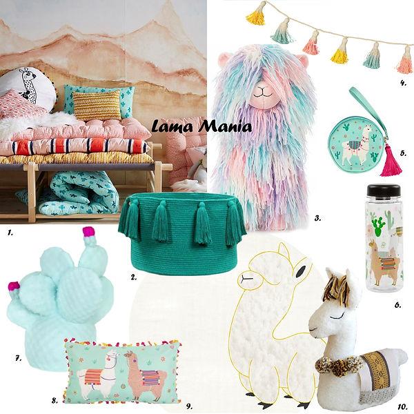 Shopping Lama déco kids