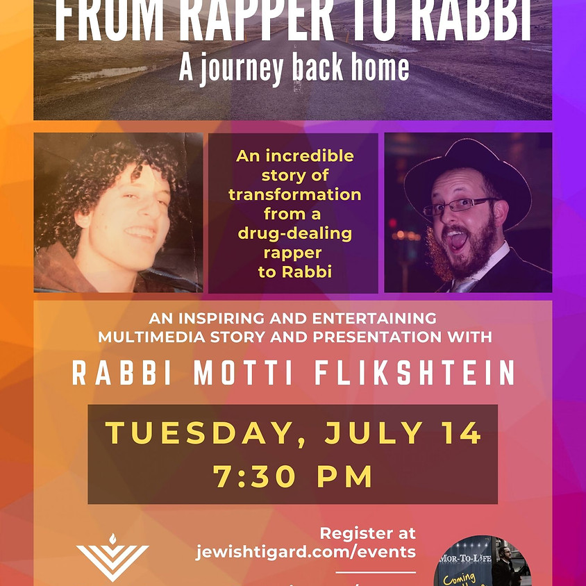 From Rapper to Rabbi