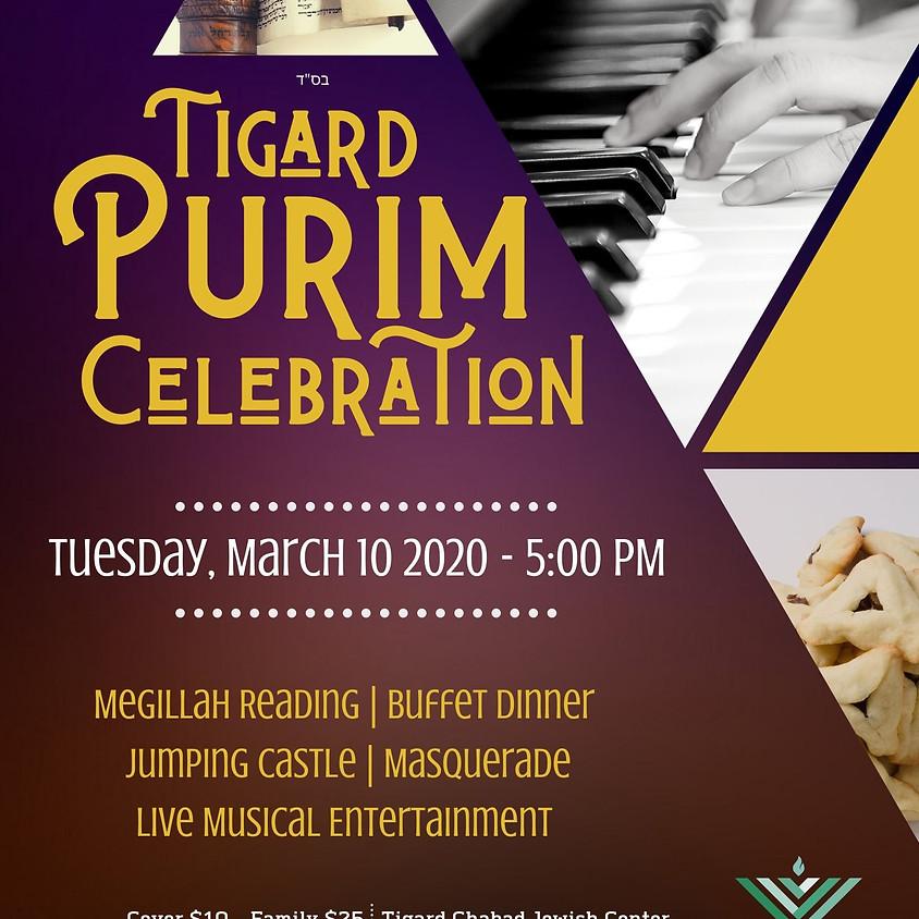 Tigard Purim Celebration