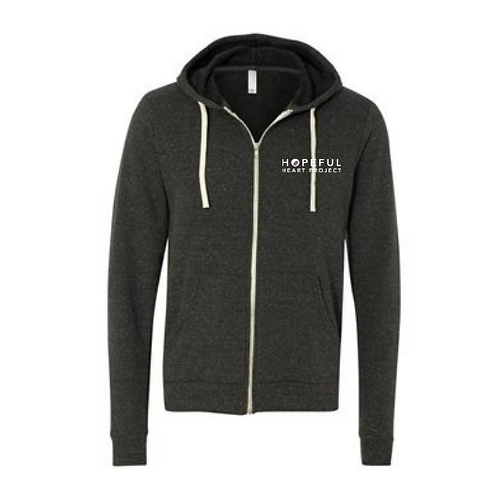 Hopeful Heart Project Unisex Hooded Full-Zip