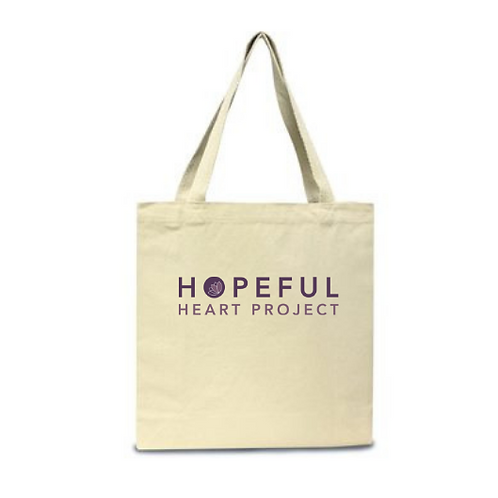 Hopeful Heart Project Canvas Tote Bag