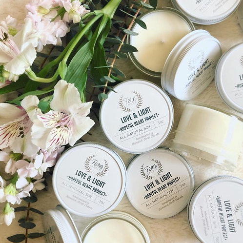 Love & Light Candle