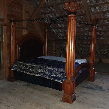 Das Bett eines Königs