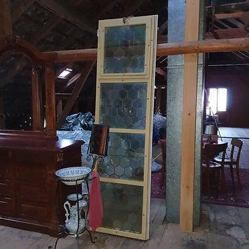 Kirchenfenster aus Lungern (OW)