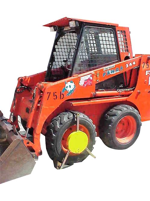 Radkralle Modell 2000 - für Baufahrzeuge **