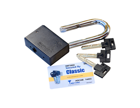 Hochsicherheits-Hangschloss Mul-T-Lock mit 3 Schlüssel