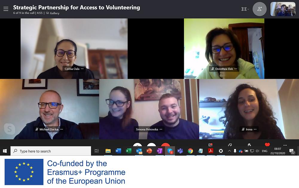 A screenshot from Transnational Meeting 1
