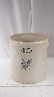 10 Gal Crock Mfg By Monmouth Pottery
