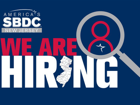 Join the NJSBDC Team! State Director Position Now Open
