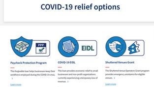 SBA COVID-19 Relief Cross Program Eligibility