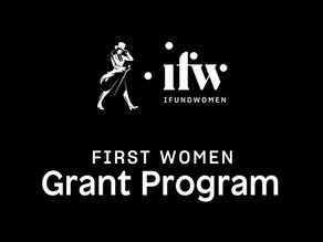 Jane Walker First Women Grant Program (iFundWomen)