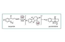 Phase-Transfer-Catalysed Synthesis of Pyrroloindolines and Pyridoindolines by a Hydrogen-Bond-Assisted Isocyanide Cyclization Cascade