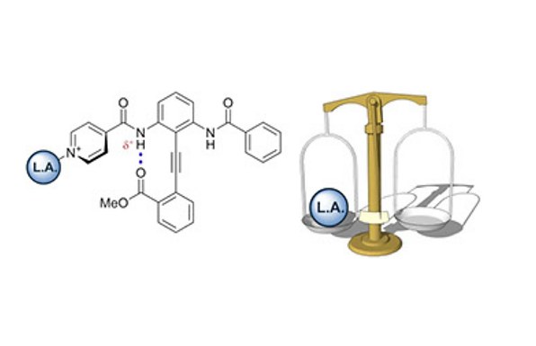 A Lewis acid-mediated conformational switch