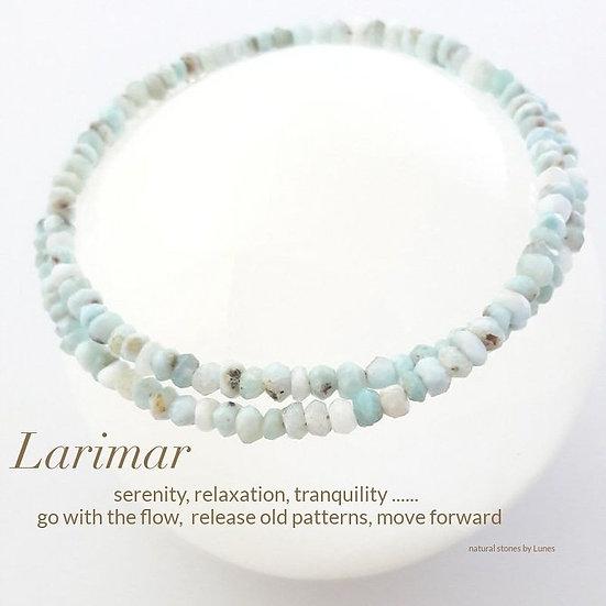 Larimar - bracelet