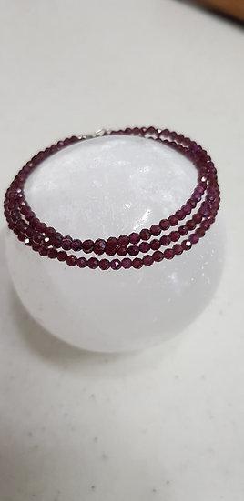 Garnet Bracelet: single | multi